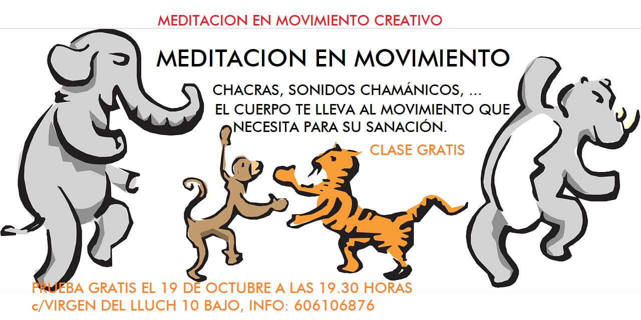 meditacion en movimiento, meditación, mediatacion